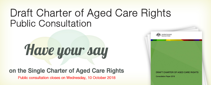 A legal perspective on the proposed single Draft Charter of Aged Care Rights